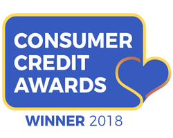 Consumer Credit Awards Winner