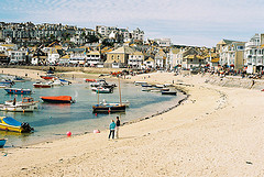 st ives to st just beach